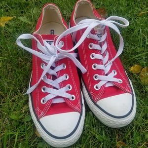 Red Womens Converse